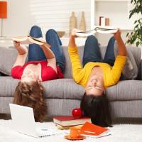 prioritera läsning och hitta gemensamma rutiner