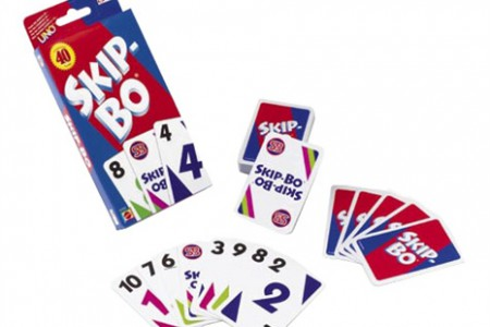 Kortspel Skip-Bo från Mattel