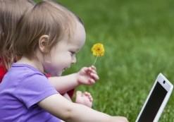 Pekplattorna viktiga i förskolan
